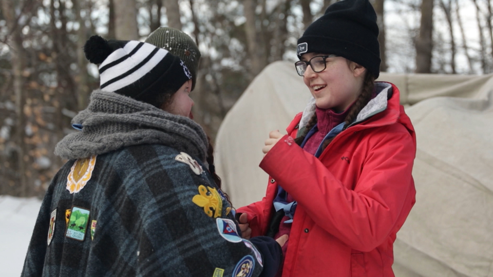 Le Camping d'hiver